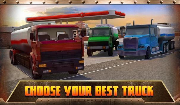 Oil Transport Truck 2016 screenshot 13