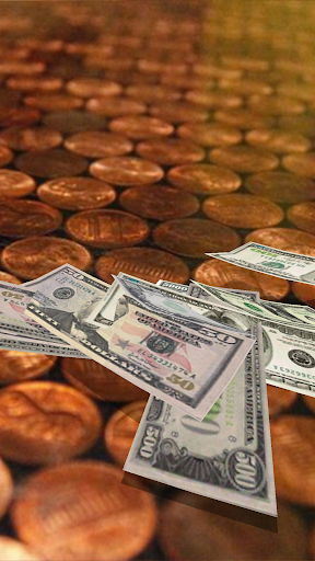 Falling Money 3D Live Wallpaper 18 تصوير الشاشة