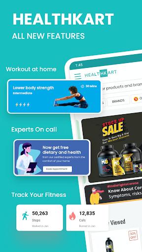 HealthKart: Health & Bodybuilding Supplements App screenshot 1
