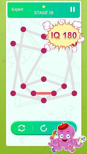 One Stroke Drawing Puzzle 6 تصوير الشاشة