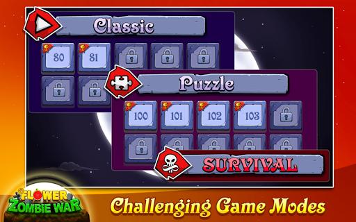 Flower Zombie War screenshot 5