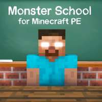 Monster School for Minecraft PE on 9Apps