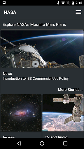 NASA screenshot 1