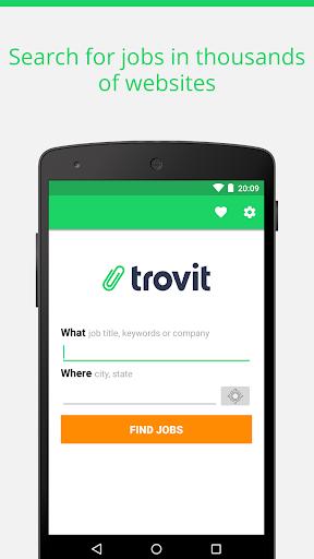 Find job offers - Trovit Jobs 1 تصوير الشاشة