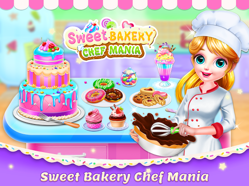 Sweet Bakery Chef Mania: Baking Games For Girls screenshot 7