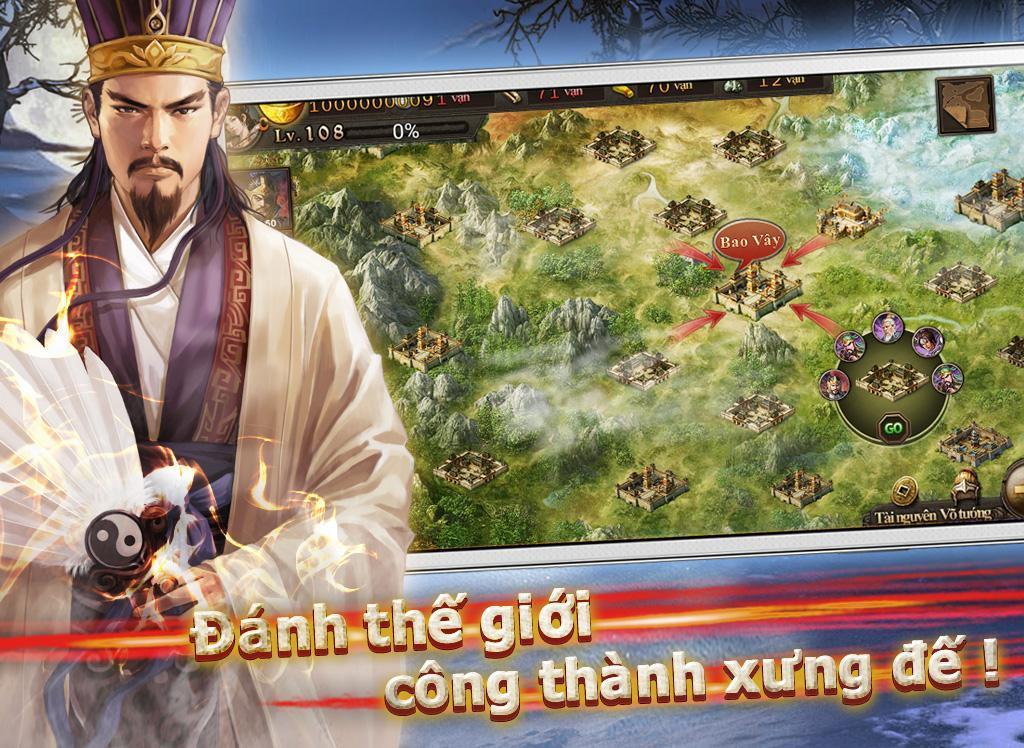 Bá Chủ Tam Quốc – CTXĐ screenshot 16