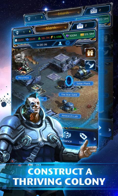 Galaxy Empire 2 تصوير الشاشة