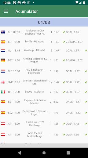 Daily Betting Tips and Predictions screenshot 1