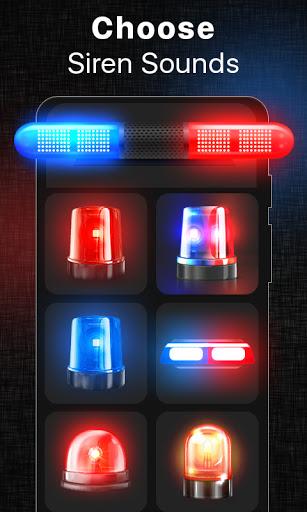 صوت صفارة الشرطة بصوت عال - الشرطة صفارة الإنذار 2 تصوير الشاشة