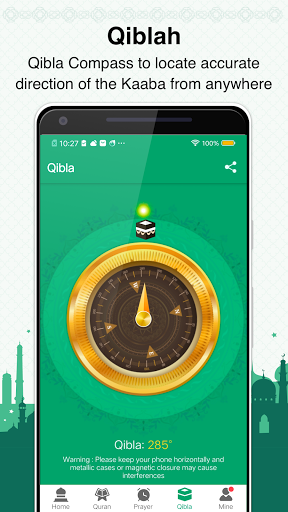 Muslim Prayer Times, Azan, Quran&Qibla By Vmuslim screenshot 6