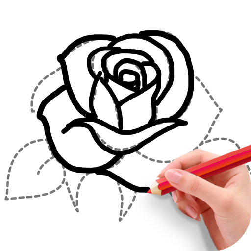 How To Draw Flowers иконка