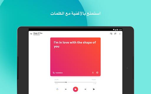Musixmatch Lyrics 11 تصوير الشاشة