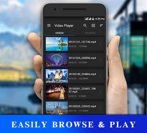 HD فيديو لاعب 2 تصوير الشاشة