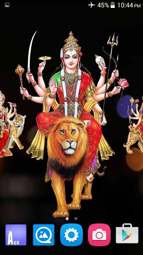 4D Maa Durga Live Wallpaper 16 تصوير الشاشة