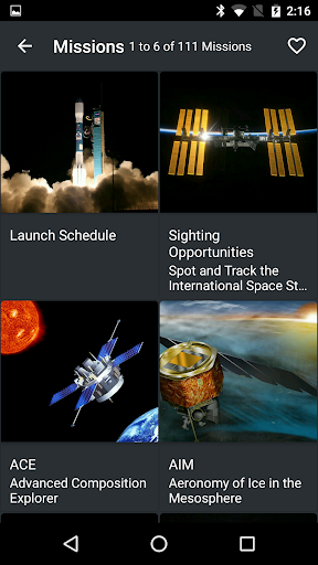 NASA screenshot 5
