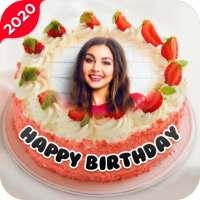 Name Photo On Birthday Cake - Birthday Photo Frame on APKTom