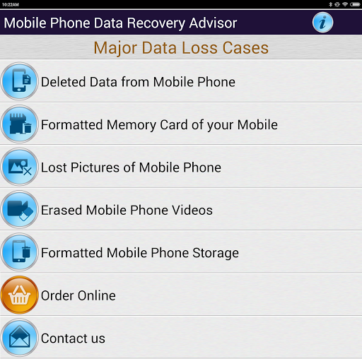 Mobile Phone Data Recovery DOC screenshot 7