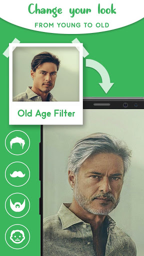 Old Age Face effects App: Face Changer Gender Swap स्क्रीनशॉट 5