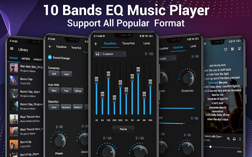 Music Player - Audio Player & 10 Bands Equalizer screenshot 1