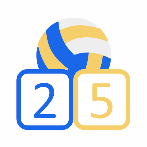 Volleyball Score Simple icon