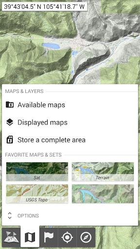 All-In-One Offline Maps 2 تصوير الشاشة