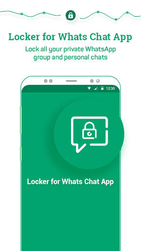 Locker for Whats Chat App - Secure Private Chat स्क्रीनशॉट 1