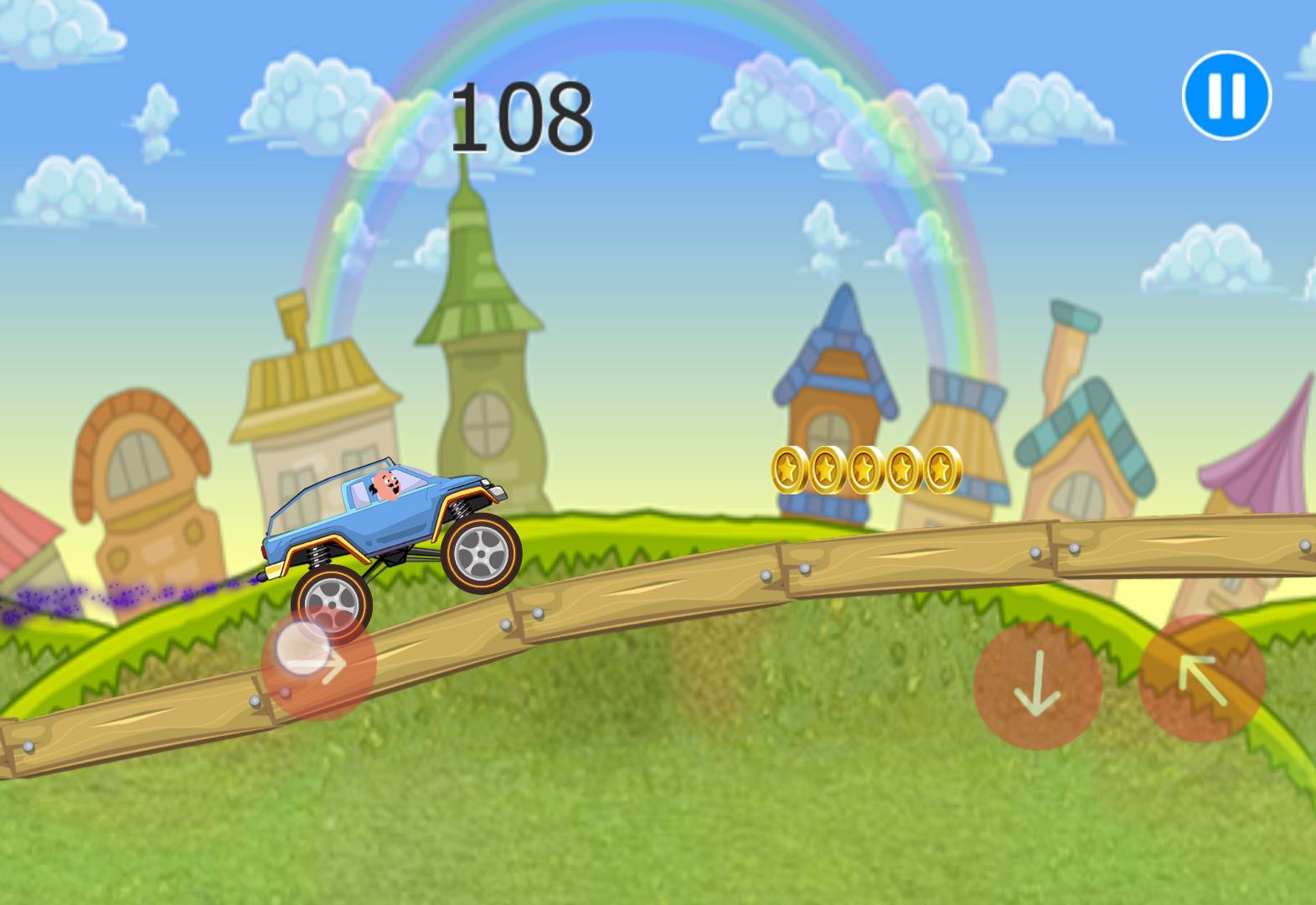 Motu Racing: Hill climb truck race patlu 10 screenshot 3