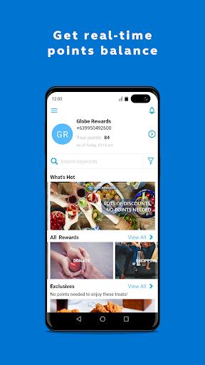 Globe Rewards screenshot 1