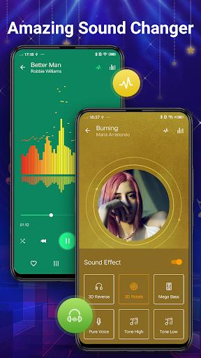 Pemutar musik - MP3 Pemain & 10 Band Equalizer screenshot 8