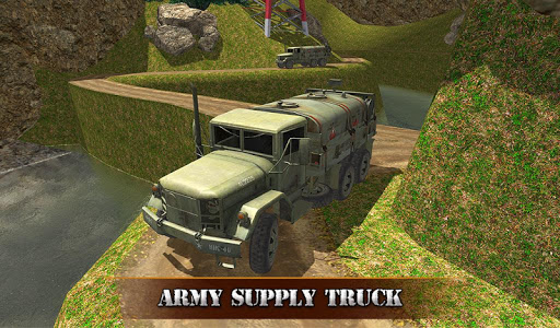 US OffRoad Army Truck driver 2020 screenshot 9