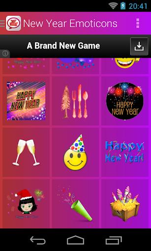 New Year Emoticons screenshot 4