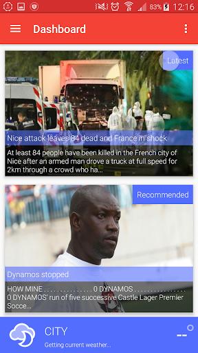 Zimbabwe Newsstand 3 تصوير الشاشة