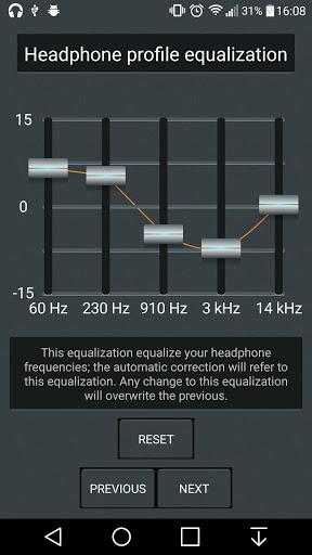 Headphones Equalizer - Music & Bass Enhancer 8 تصوير الشاشة