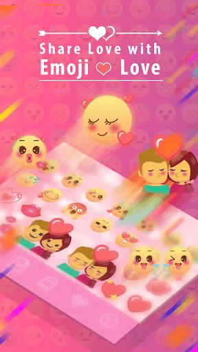 Emoji Love Stickers for Chatting Apps(Add Sticker) 4 تصوير الشاشة