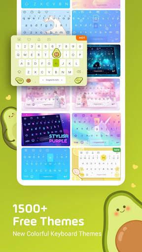 Facemoji Emoji Keyboard:DIY, Emoji, Keyboard Theme screenshot 4