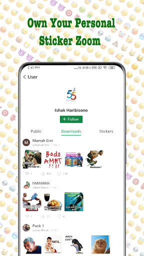 TextSticker - sticker for WhatsApp - WAStickerApps screenshot 5