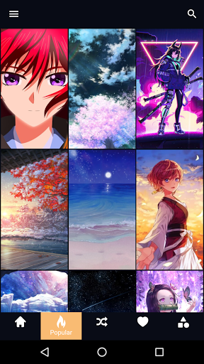 Anime Wallpaper 2 تصوير الشاشة