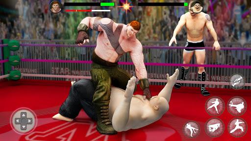 بطولة المصارعة العالمية لبطولة الفرق 4 تصوير الشاشة