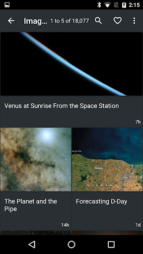 NASA screenshot 2