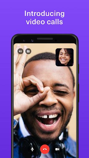 TextNow - 무료 문자, 음성 및 영상 통화 앱 screenshot 1