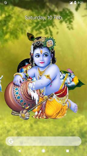 4D Little Krishna App & Live Wallpaper screenshot 3