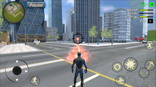 Black Hole Hero : Vice Vegas Rope Mafia screenshot 8