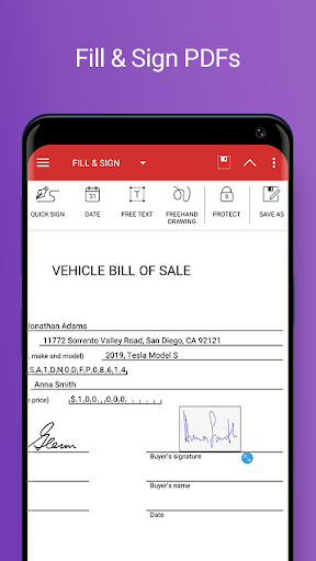 PDF Extra - Scan, View, Fill, Sign, Convert, Edit screenshot 2