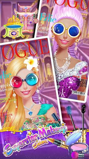 ⭐👧Superstar Makeup Salon - Girl Dress Up 7 تصوير الشاشة