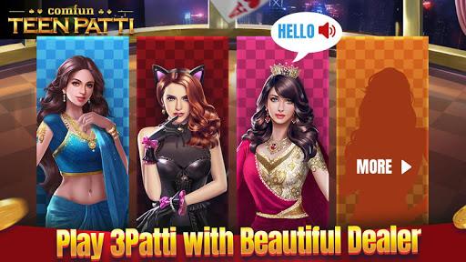 Teen Patti Comfun-Indian 3 Patti Card Game Online 6 تصوير الشاشة
