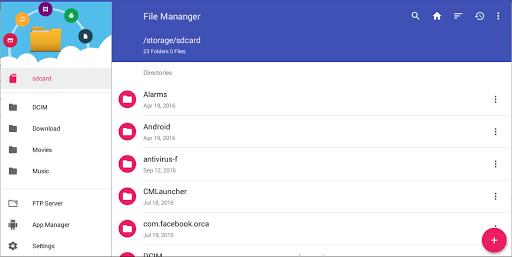 File Manager 12 تصوير الشاشة