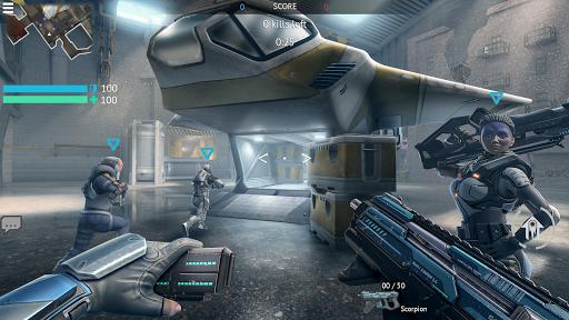 Infinity Ops: Online FPS Cyberpunk Shooter स्क्रीनशॉट 2