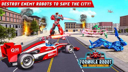 Formula Car Robot Games - Air Jet Robot Transform screenshot 12