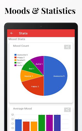 Diaro - Diary, Journal, Mood Tracker with Lock screenshot 18