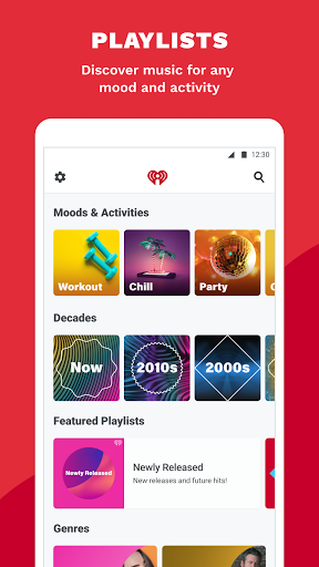iHeartRadio: Radio, Podcasts & Music On Demand 5 تصوير الشاشة